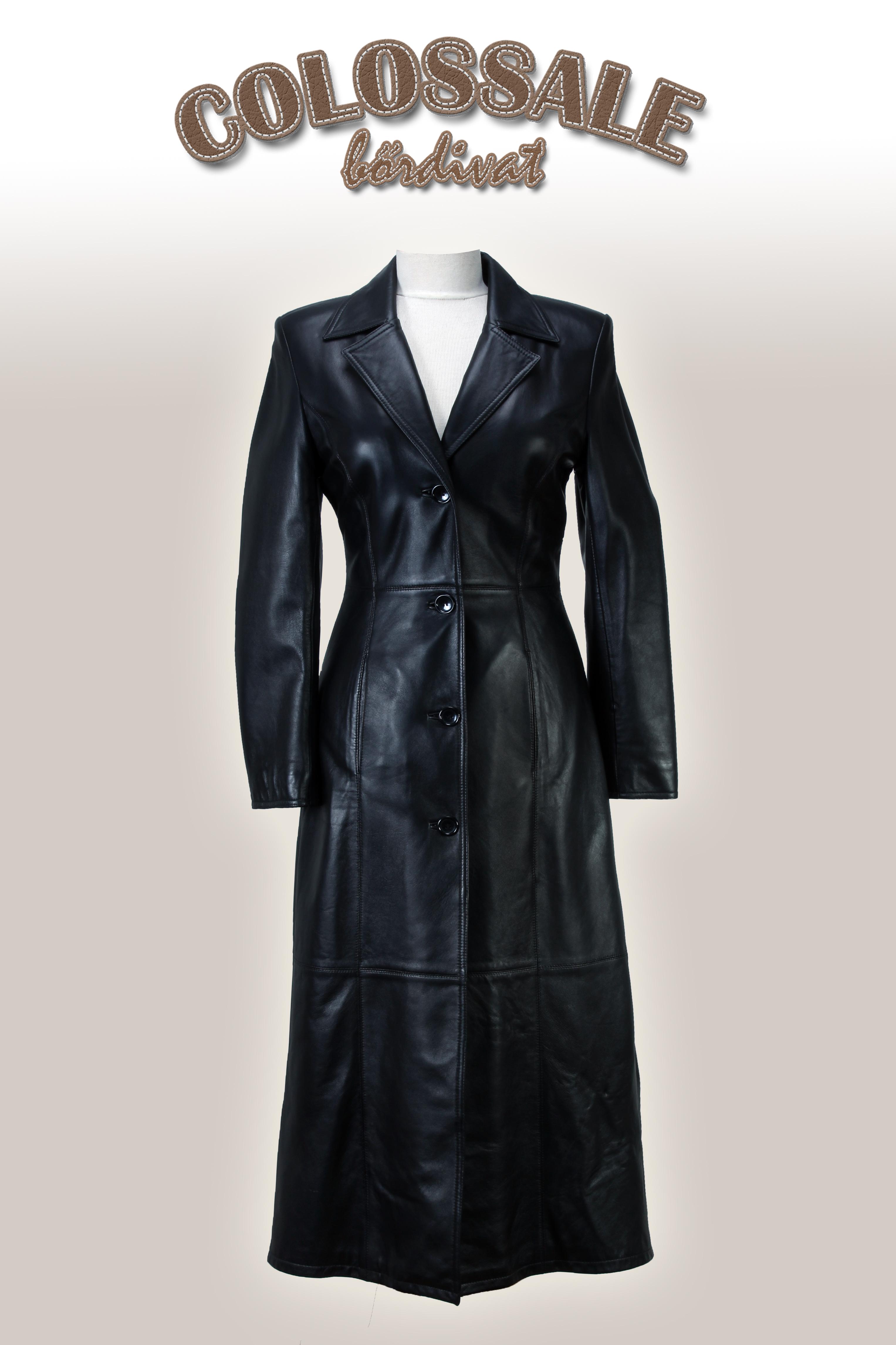 WESTERN hosszú női bőrkabát – Bőrkabát és bőrdzseki a gyártótól